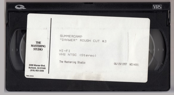 Summercamp Drawer VHS Tape Rough Cut #3