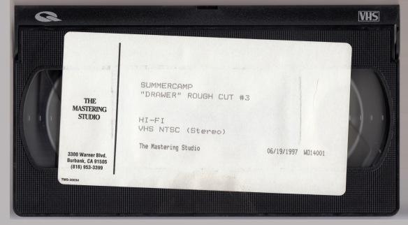 Summercamp Drawer VHS Tape Rough Cut #3
